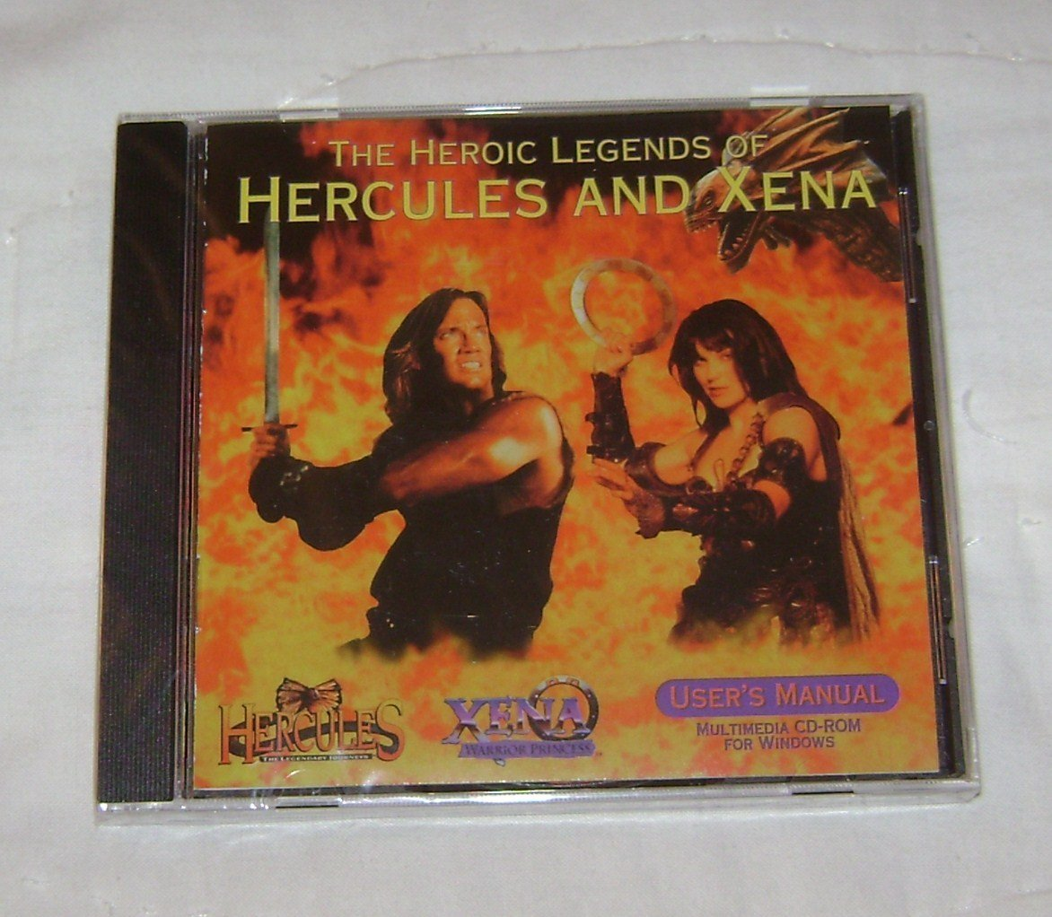 The Heroic Legends of Hercules and Xena [CD-ROM] Windows - $6.37