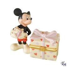 Lenox Disney Classics Mickey's Heartfelt Treasure Box - $37.24
