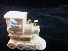 "Lenox ""All Aboard"" Treasure Train Lidded Keepsake Box with Charm First I... - $19.59"