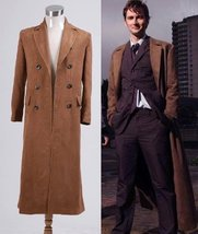 Doctor Who Cosplay Costume Dr. Brown Long Trench Coat - $89.99+