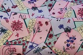 Garden Floral Scrub Print Fabric. Timeless Treasures Fabric, Inc. Pattern # WNAT