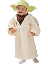 Star Wars Yoda Fleece Costume Toddler US 2T-4T + Candy Bucket Pail - $35.53