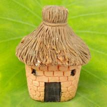 Old Cottage Hut Country House Fairy Garden Terrarium Doll Decor Building... - $6.99
