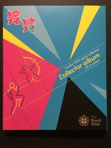 Complete Set 29 Coins Royal Mint 2012 London Olympics Sports Collection Album - $399.99