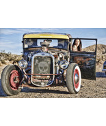 Rat Rod / Desert / Pin-Up Metal Sign - $29.95