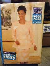 Vintage Butterick See & Sew 3233 Jacket, Skirt & Top Pattern - Sizes 12/... - $7.55