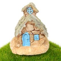 Stone Cottage Country House Fairy Garden Terrarium Doll Shelf Decor Buil... - $7.99