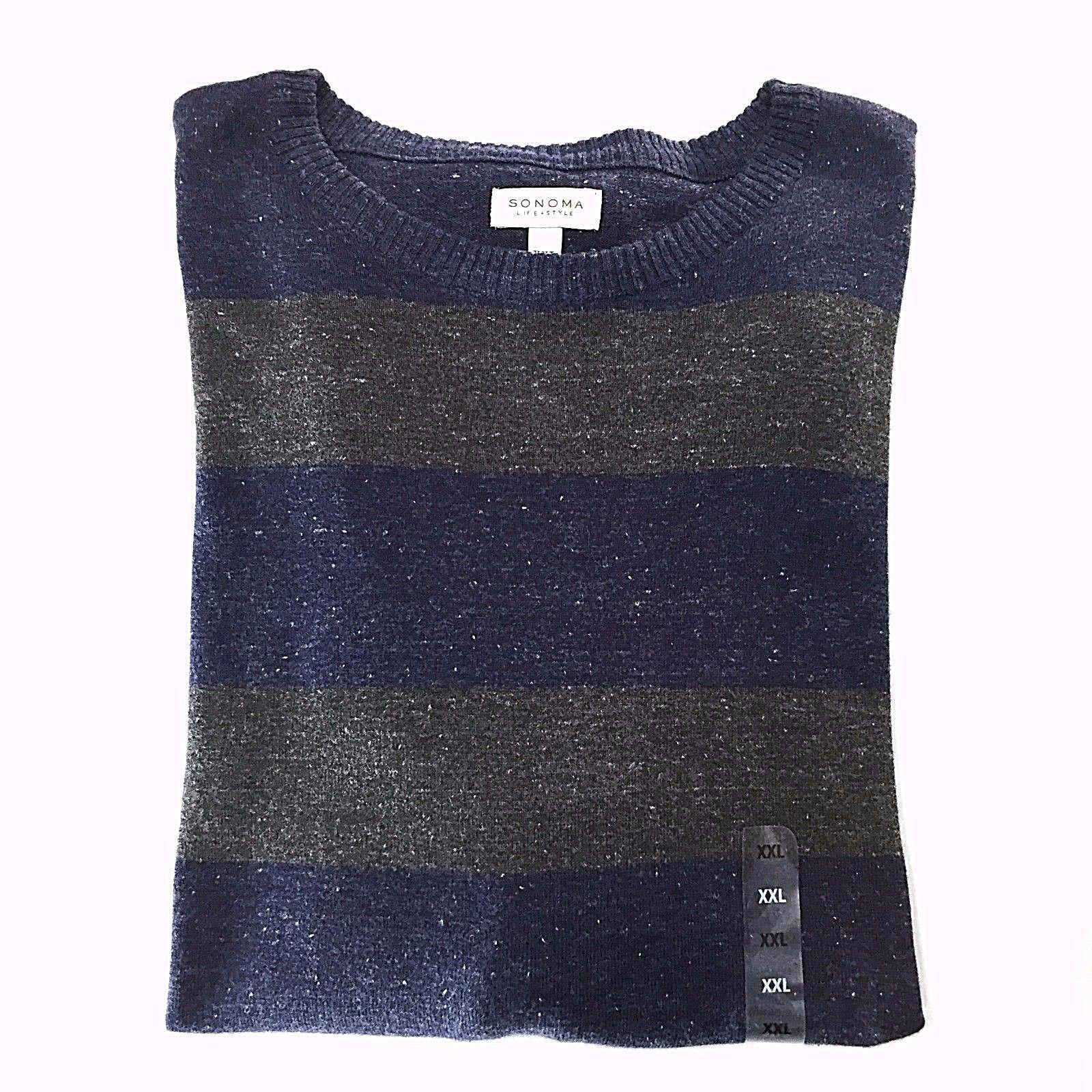 9ee16659 Sonoma Fine Gauge Striped Crewneck Sweater and 50 similar items