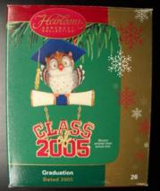 Carlton Cards Christmas Ornament 2005 Graduation Owl Original Presentati... - $12.99