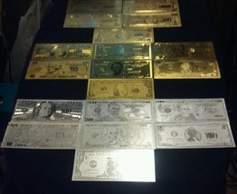<COLLECTION LOT>JADE Charm+COINS/GOLD&SILVER Banknotes$1-$100K+MORE! U.S S - $50.04