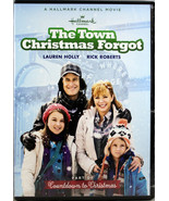 The Town Christmas Forgot NEW DVD Lauren Holly Rick Roberts Hallmark Movie - $10.14