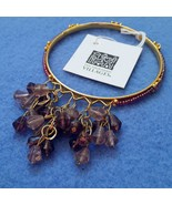 Fair Trade Purple Beaded Bangle Bracelet by Ten Thousand Villages  - $7.99