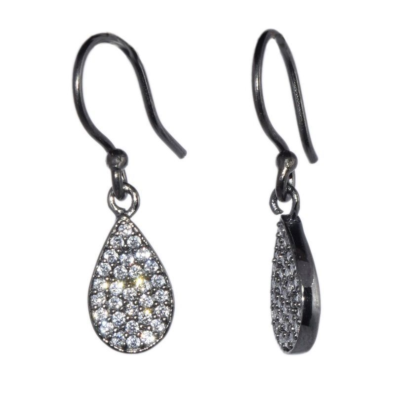 Pure 925 Sterling Cubic Zirconia Solid Shiny Gemstone Silver Jewelry SHER0089