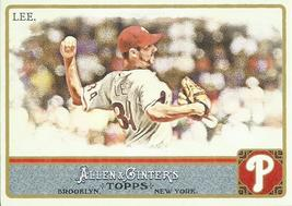 2011 Topps Allen and Ginter #290 Cliff Lee  - $0.50