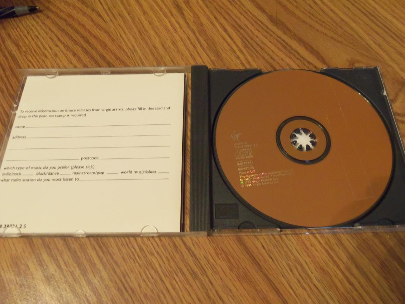 Signed Sealed Delivered Virgin Records Ltd Ed Anniversary Cd Iggy Pop Cracker
