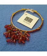 Fair Trade Pink Beaded Bangle Bracelet by Ten T... - $7.99
