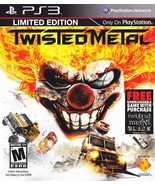Twisted Metal Limited Edition PS3 Great Condition Complete Fast Shipping - $16.93