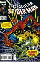 The Spectacular Spider-Man #214 : Bloody Justice (Marvel Comics) [Paperb... - $2.44
