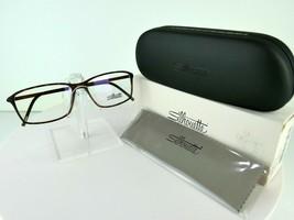 Silhouette SPX Illusion Fullrim 2893 6104 Havana Walnut 54-14 Eyeglass F... - $90.20