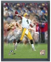 """Brett Favre Green Bay Packers Legend Multi-Exposure 11"""" x 14"""" Framed Photo - $633,98 MXN"""
