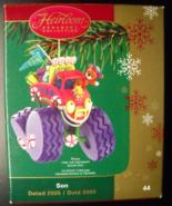 Carlton Cards Heirloom Christmas Ornament 2005 Son Monster Truck Origina... - $12.99