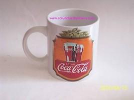 Coke Mug Drink Coca Cola Cup Coffee Ceramic 1996 Vintage - $12.97
