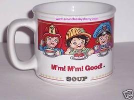 Campbells Kids Soup Mug Career Ceramic Coffee Mug Mm! Mm! Vintage Retire... - $12.97