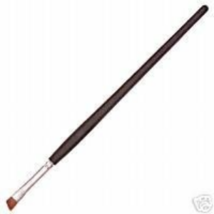 Chisel Kolinsky 100% Red Sable Angle Eyeshadow Eye Liner Brush New - $14.99