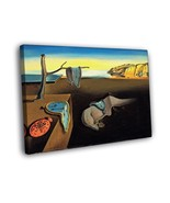 Salvador Dali The Persistence of Memory Abstract Art 16x12 Framed Canvas... - $25.46
