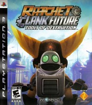 Ratchet & Clank Future Tools Of Destruction PS3 Great Condition Complete - $9.93