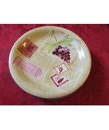 "Three Nantucket Home Bread and Butter Plates 6 1/4"" With Grapes Pattern - $9.99"