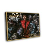 Michael Jackson Thriller Zombies 12x8 Framed Canvas Print - $16.96