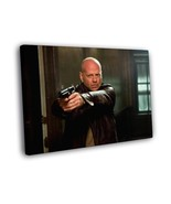 John McClane Gun Die Hard Bruce Willis Action Movie Framed Canvas Print - $16.96