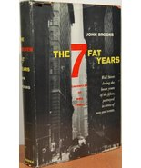 The 7 Fat Years : Chronicles of Wall Street [Hardcover] [Jan 01, 1958] B... - $192.08