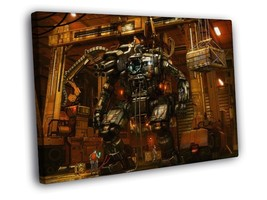 Mech Robot Military Sci-Fi Art 12x8 Framed Canvas Print - $14.96