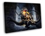 God of War Kratos Video Game Art 30x20 Framed Canvas Print