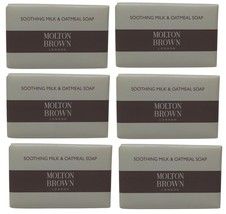 Molton Brown Milk & Oatmeal Hotel Soap lot of 6... - $35.00