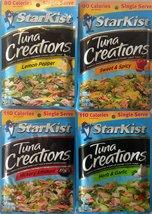 Starkist Tuna Creations - Variety Pack; Hickory Smoked, Herb & Garlic, L... - $13.74