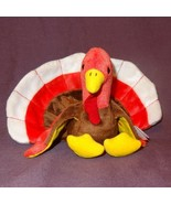 Gobbles Turkey Retired Ty Beanie Baby Rare Mistakes  Swing Tag U.K. ! 19... - $339.64