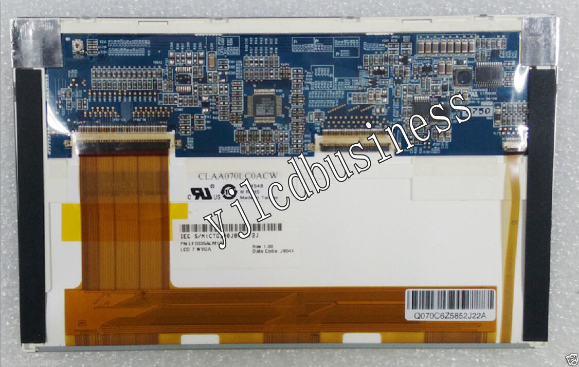"""New CPT 7.0"""" CLAA070LC0ACW LCD screen Panel 800*480 TFT 90 days warranty - $52.25"""