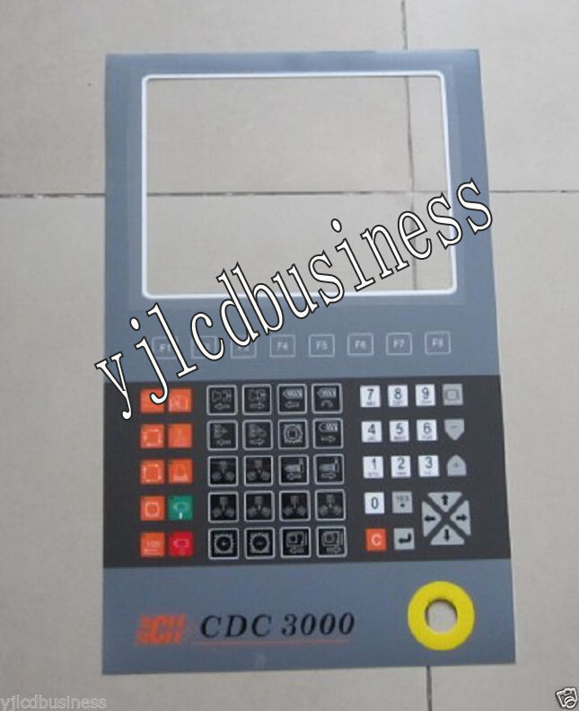 Primary image for new CDC3000 CH Injection Molding Machine Membrane Keypad film 90 days warranty