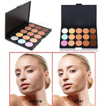 3 Pack New Professional 15 Concealer Camouflage Makeup Palette - $16.74
