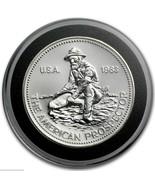 1983 Pure Silver .999 Fine - ENGELHARD PROSPECTOR Key Date Rare Round - $33.92