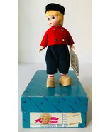 "Madame Alexander 8"" Boy Doll Netherlands #577 in Original Box w/ Tags 1980s - $19.34"