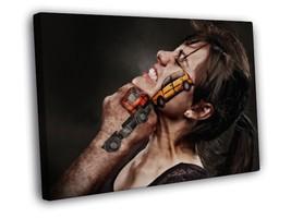 Cool Creative Art Truck Car Crash Face hit kick... - $29.95