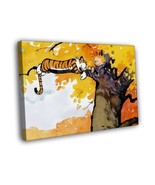 Calvin And Hobbes On The Tree 16x12 FRAMED CANVAS - $25.46