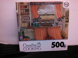 Country Cooking Puzzle, Pie Baking Day - $12.73