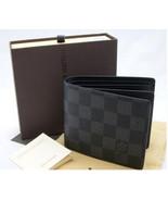 O lou isvui tto n men to women s black leather wallet l v b9fa thumbtall