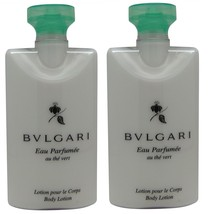 Bvlgari au the vert Green Tea Body Lotion lot o... - $20.00