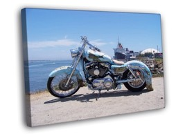 Fantastic Tail Drager Chopper Bike 30x20 FRAMED... - $19.95